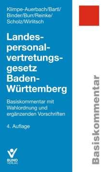 Wolf Klimpe-Auerbach: Landespersonalvertretungsgesetz Baden-Württemberg, Buch