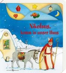 Nikolaus, komm in unser Haus, Buch