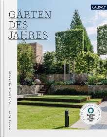 Konstanze Neubauer: Gärten des Jahres 2021, Buch