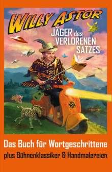 Willy Astor: Jäger des verlorenen Satzes, Buch