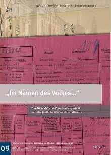 """Hildegard Jakobs: """"Im Namen des Volkes..."""", Buch"""