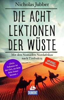 Nicholas Jubber: Die acht Lektionen der Wüste, Buch