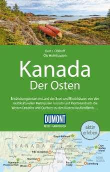 Kurt Jochen Ohlhoff: DuMont Reise-Handbuch Reiseführer Kanada, Der Osten, Buch