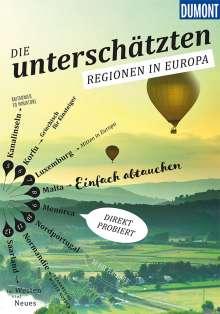 Klaus Bötig: Die Unterschätzten Regionen in Europa, Buch
