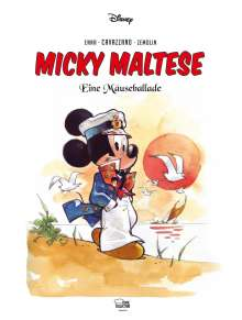 Walt Disney: Micky Maltese, Buch