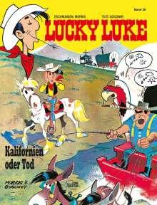 Morris: Lucky Luke 39 - Kalifornien oder Tod, Buch