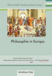 Philosophie in Europa, Buch