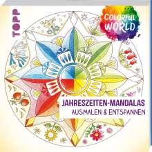 Helga Altmayer: Colorful World - Jahreszeiten-Mandalas, Buch