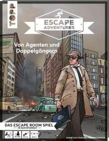 Simon Zimpfer: Escape Adventures - Von Agenten und Doppelgängern, Buch