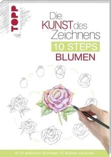 Mary Woodin: Die Kunst des Zeichnens 10 Steps - Blumen, Buch