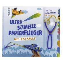 Dominik Meißner: Ultra schnelle Papierflieger mit Katapult, Buch