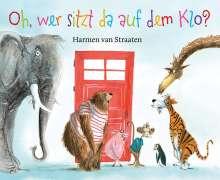 Harmen van Straaten: Oh, wer sitzt da auf dem Klo ?, Buch