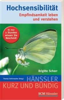 Brigitte Schorr: Hochsensibilität, Buch