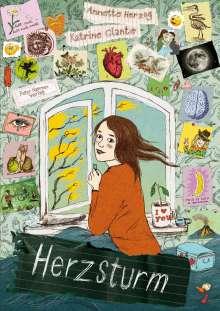 Annette Herzog: Herzsturm - Sturmherz, Buch
