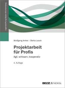 Wolfgang Antes: Projektarbeit für Profis, Buch