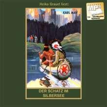 Karl May: Der Schatz im Silbersee. MP3-CD, MP3-CD