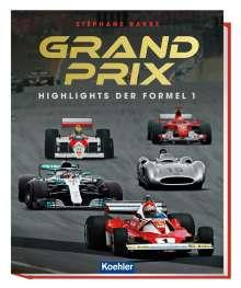Stéphane Barbé: Grand Prix, Buch