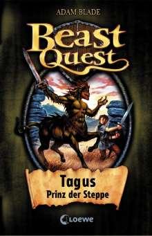 Adam Blade: Beast Quest 04. Tagus, Prinz der Steppe, Buch