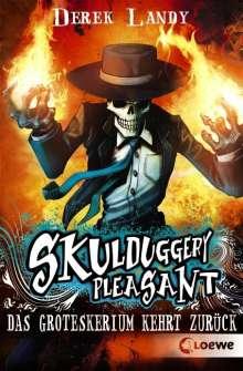 Derek Landy: Skulduggery Pleasant 02. Das Groteskerium kehrt zurück, Buch