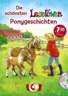 Die schönsten Leselöwen-Ponygeschichten mit Hörbuch, Buch