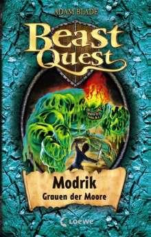 Adam Blade: Beast Quest 34. Modrik, Grauen der Moore, Buch