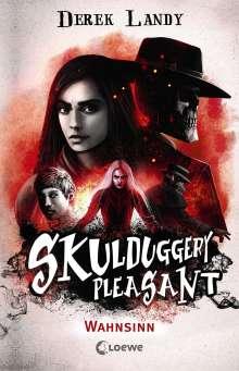 Derek Landy: Skulduggery Pleasant - Wahnsinn, Buch