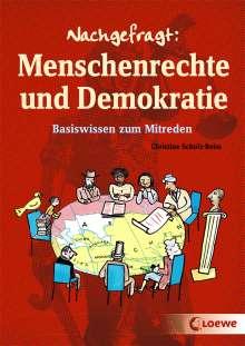 Christine Schulz-Reiss: Nachgefragt: Menschenrechte und Demokratie, Buch