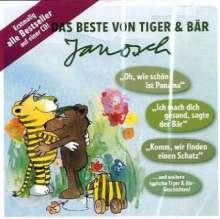 Janosch: Das Beste von Tiger & Bär, 1 Audio-CD, CD