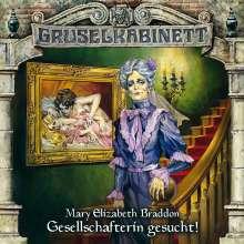 Mary E. Braddon: Gruselkabinett - Gesellschafterin gesucht Folge 65, CD