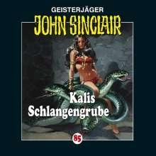 Jason Dark: Geisterjäger John Sinclair Kalis Schlangengrube, CD