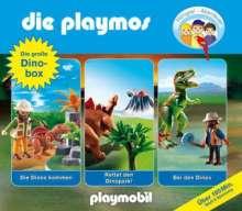 Simon X. Rost: Die Playmos. Die große Dino-Box., 3 CDs