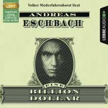 Andreas Eschbach: Eine Billion Dollar (4 MP3-CDs), 4 CDs