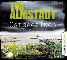 Eva Almstädt: Ostseefluch, 4 CDs