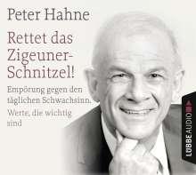 Peter Hahne: Rettet das Zigeunerschnitzel! und Finger weg von unserem Bargeld!, 4 CDs