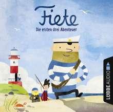 Fiete - Die ersten drei Abenteuer, CD