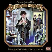 Arthur Conan Doyle: Sherlock Holmes - Folge 28, 2 CDs
