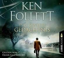Ken Follett: Das zweite Gedächtnis, 5 CDs
