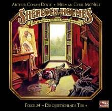 Arthur Conan Doyle: Sherlock Holmes - Folge 34. Die quietschende Tür, CD
