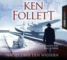 Ken Follett: Nacht über den Wassern, 5 CDs