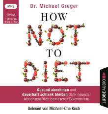 Michael Greger: How Not to Diet, MP3-CD
