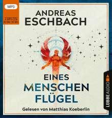 Andreas Eschbach: Eines Menschen Flügel, 4 MP3-CDs