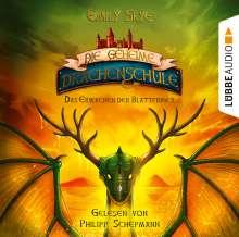 Die geheime Drachenschule - Das Erwachen der Blatt, 2 CDs