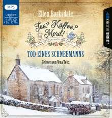 Ellen Barksdale: Tee? Kaffee? Mord! - Tod eines Schneemanns, MP3-CD