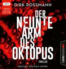 Dirk Rossmann: Der neunte Arm des Oktopus, 2 MP3-CDs