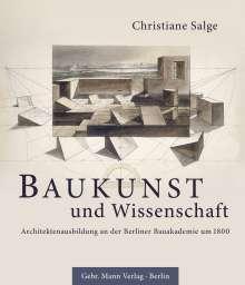 Christiane Salge: Baukunst und Wissenschaft, Buch