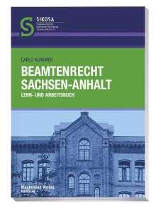Carlo Klimmek: Beamtenrecht Sachsen-Anhalt, Buch