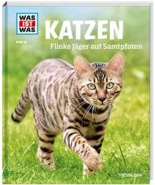 Jutta Aurahs: WAS IST WAS Band 59. Katzen. Flinke Jäger auf Samtpfoten, Buch