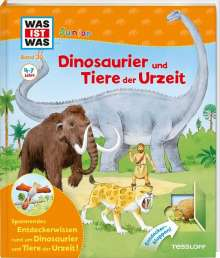 Bärbel Oftring: WAS IST WAS Junior Band 30. Dinosaurier und Tiere der Urzeit, Buch