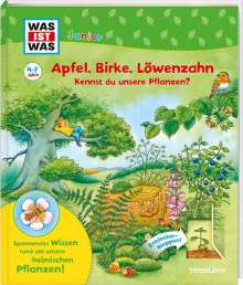 Bärbel Oftring: WAS IST WAS Junior Apfel, Birke, Löwenzahn Kennst du unsere Pflanzen?, Buch