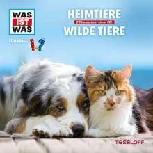 Manfred Baur: Was ist was Folge 39: Heimtiere/ Wilde Tiere, CD